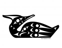 Starling clipart loon