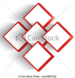 Red Square clipart