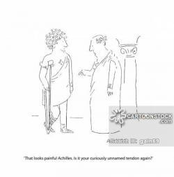 Achilles clipart funny