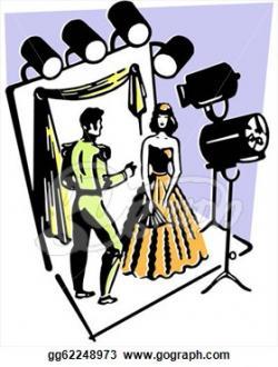 Theatre clipart actor actress