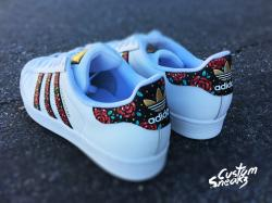 Adidas clipart floral