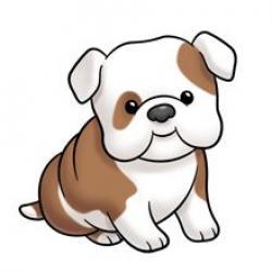 Drawn bulldog