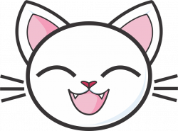 Calico Cat clipart kitty face