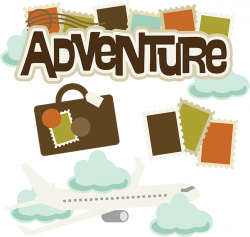 Hiking clipart adventure travel
