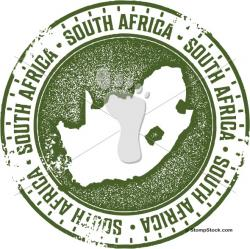 Stamp clipart africa