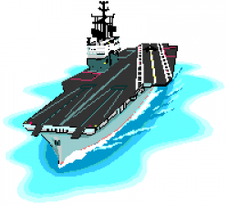 Aircraft Carrier clipart art