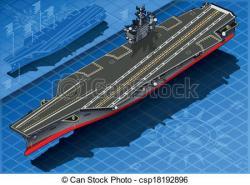 Aircraft Carrier clipart battleship