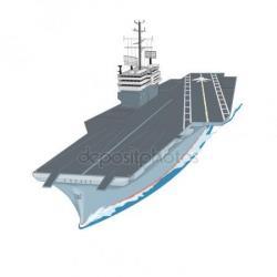 Aircraft Carrier clipart craft