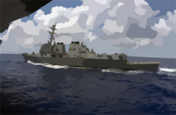 Aircraft Carrier clipart destroyer