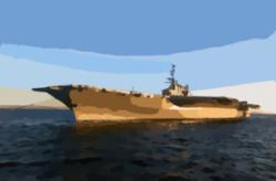 Aircraft Carrier clipart medium