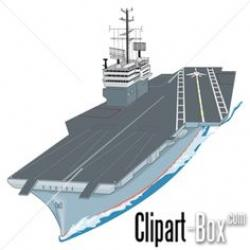 Aircraft Carrier clipart military