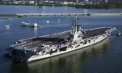 Aircraft Carrier clipart uss