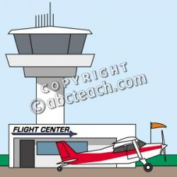 Airport clipart airport building
