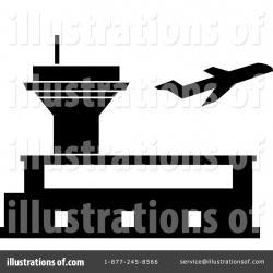 Airport clipart illustration