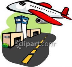 Airport clipart plane