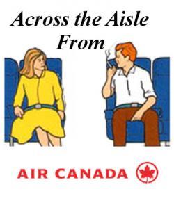 Airplane clipart air canada