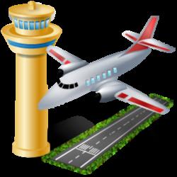 Airfield clipart cartoon