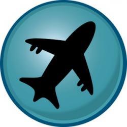Airport clipart airplain