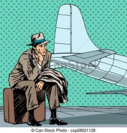 Airport clipart flight