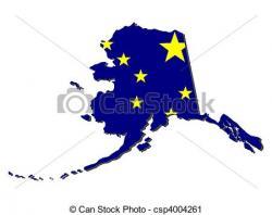 Alaska clipart Alaska Map Clipart