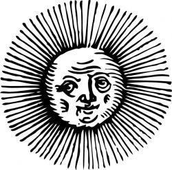 Alchemy clipart sun