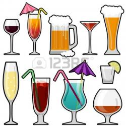 Drink clipart alcoholic drink