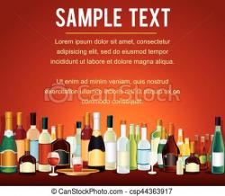 Alcohol clipart bar counter
