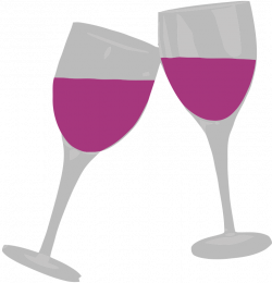 Sangria clipart wine glass