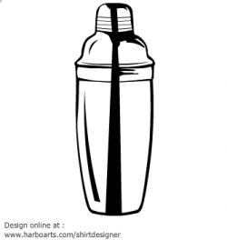 Alcohol clipart martini shaker