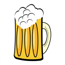 Alcohol clipart pint beer