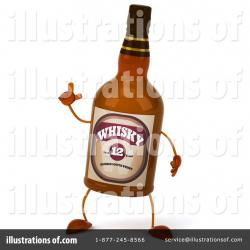 Alcohol clipart whisky bottle