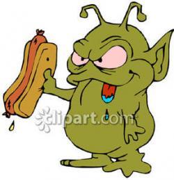 Taco clipart alien