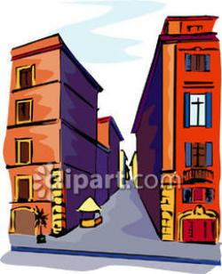Alley clipart
