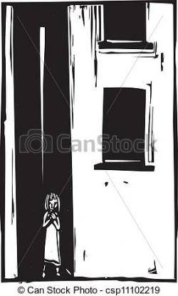 Abandoned clipart Alone Clipart