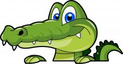 Relax clipart crocodile head