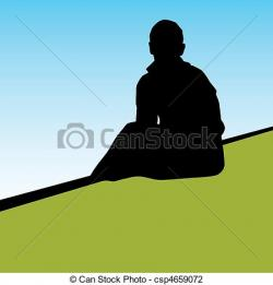 Lonely clipart lonely person