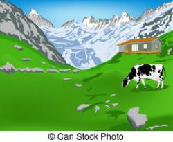 Outdoor clipart alps