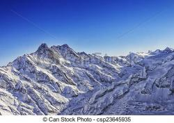 Mountain Ridge clipart alps