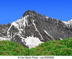 Mountain Ridge clipart swiss alp