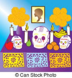 Altar clipart day the dead