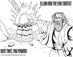 Altar clipart elijah