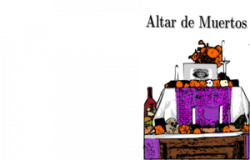 Altar clipart mexican