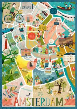 Amsterdam clipart Amsterdam On Map