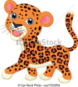Cheetah clipart cute leopard