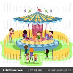 Carousel clipart theme park