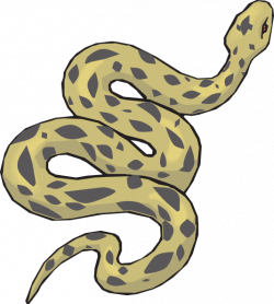 Serpent clipart anaconda