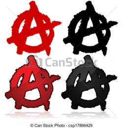 Anarchy clipart crowded street