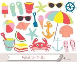 Seaside clipart beach item