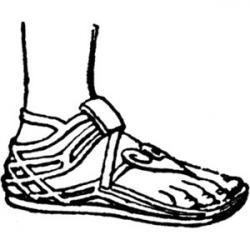 Sandal clipart egyptian