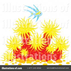Sea Anemone clipart under sea